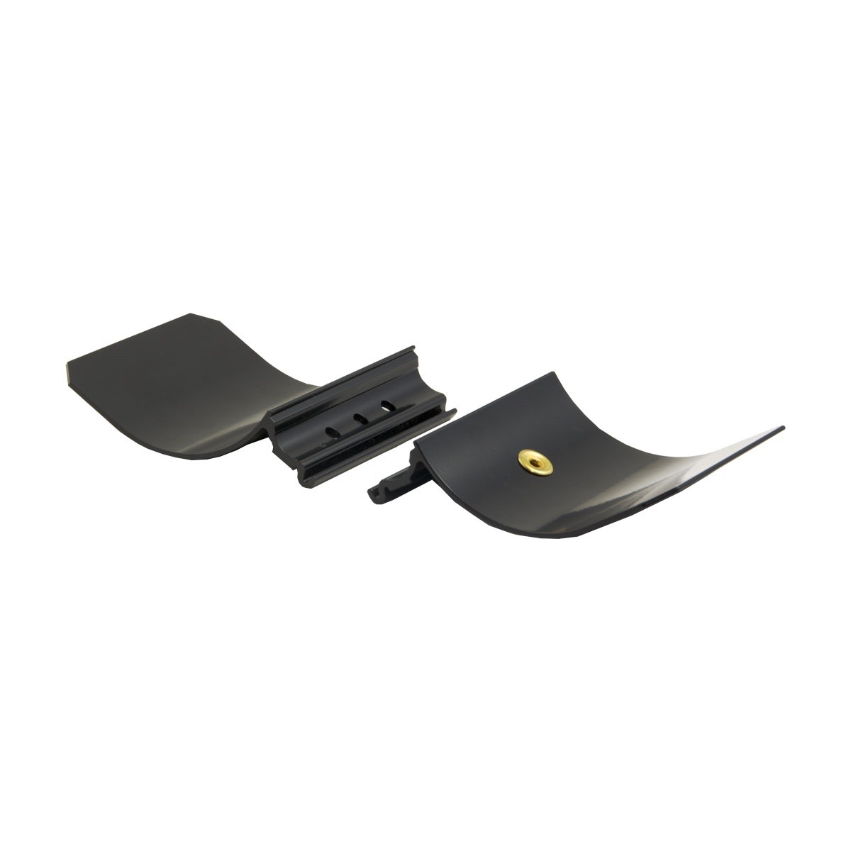 8001-0014, Black 3-Hole Armrest for GPX Series